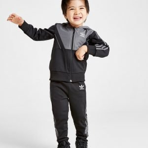 Adidas Originals Speed Full Zip Crew Tracksuit Infant Musta