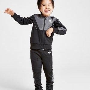 Adidas Originals Speed Full Zip Crew Tracksuit Infant Musta