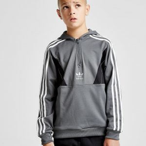 Adidas Originals Speed Poly 1/2 Zip Hoodie Harmaa