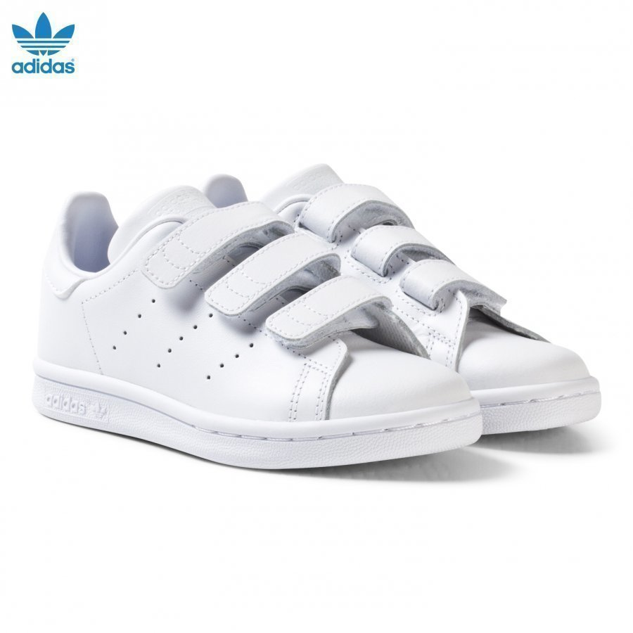 Adidas Originals Stan Smith Velcro Trainers White Lenkkarit