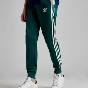 Adidas Originals Superstar Track Pants Vihreä
