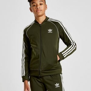 Adidas Originals Superstar Track Top Cargo / White