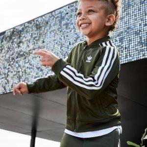 Adidas Originals Superstar Tracksuit Cargo / White