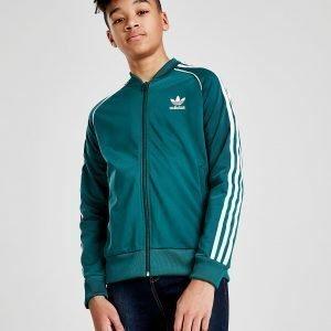 Adidas Originals Superstar Verryttelytakki Vihreä
