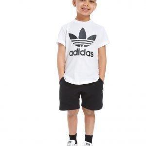 Adidas Originals T-Paita & Shortsit Valkoinen