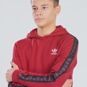 Adidas Originals Tape Hoodie Huppari Punainen