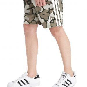 Adidas Originals Trefoil Camo Swim Shorts Camo / White