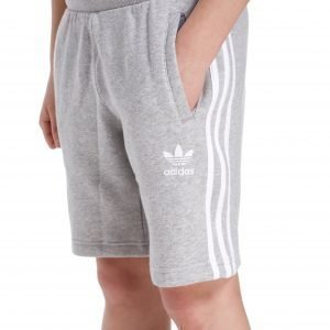 Adidas Originals Trefoil Fleece Shorts Harmaa