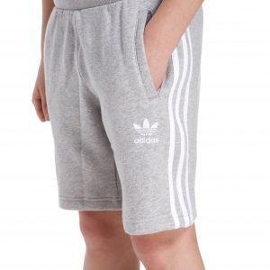 Adidas Originals Trefoil Fleece Shorts Harmaa