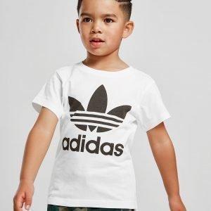 Adidas Originals Trefoil T-Shirt Valkoinen