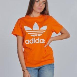 Adidas Originals Trefoil Tee T-Paita Oranssi