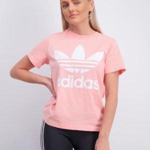 Adidas Originals Trefoil Tee T-Paita Vaaleanpunainen