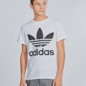 Adidas Originals Trefoil Tee T-Paita Valkoinen