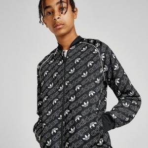 Adidas Originals Trefoil Track Top Musta