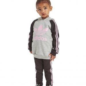Adidas Originals Tyttöjen Huppari / Leggingsi Setti Harmaa