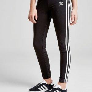 Adidas Originals Tyttöjen Trefoil 3-Stripes Leggingsit Musta