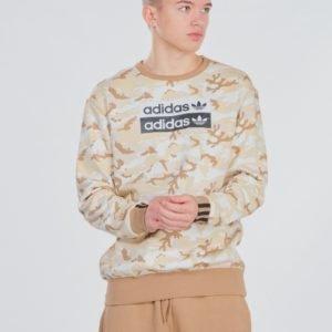 Adidas Originals V Ocal Crew Neule Beigestä