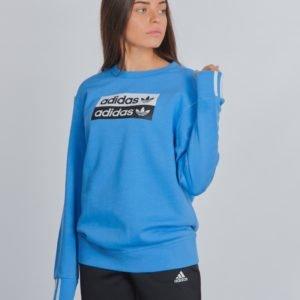 Adidas Originals V Ocal Crew Neule Sininen