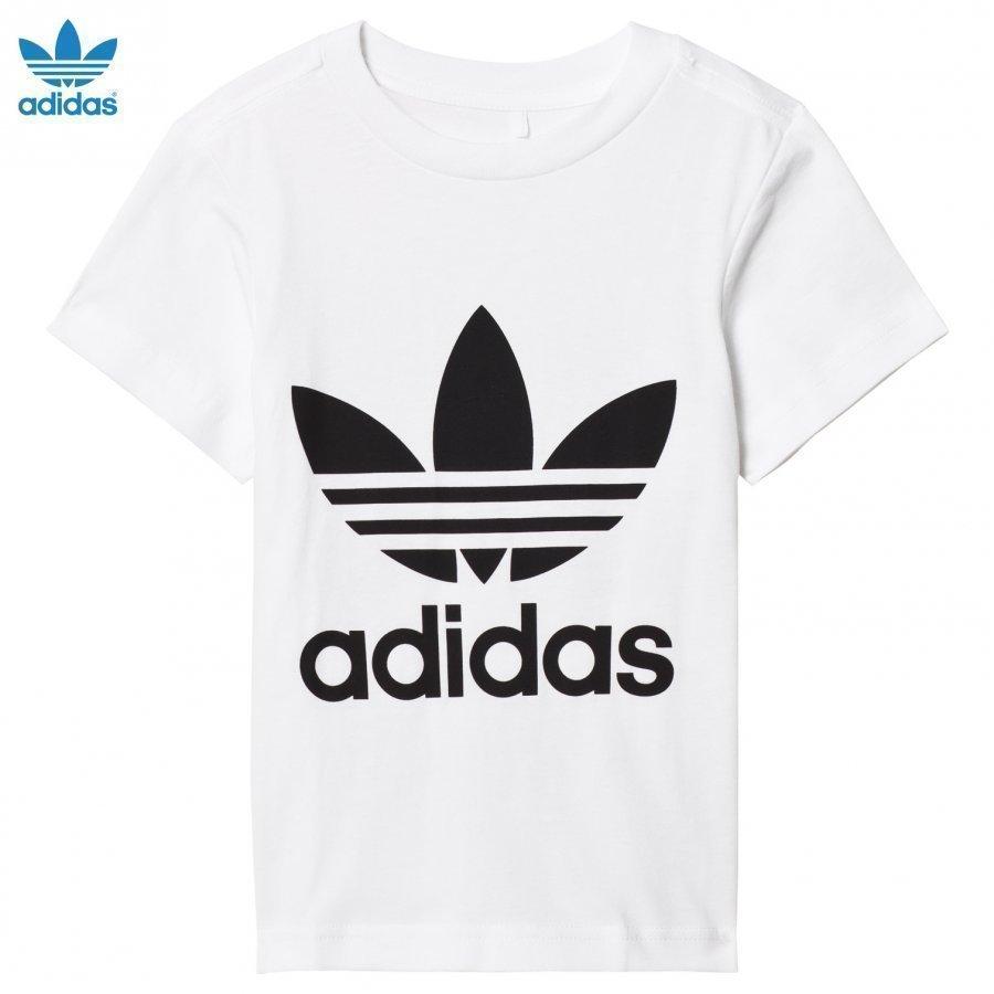 Adidas Originals White Logo Tee T-Paita