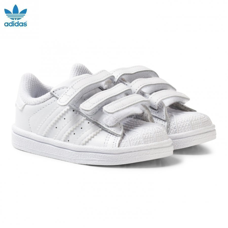 Adidas Originals White Superstar Infant Trainers Lenkkarit