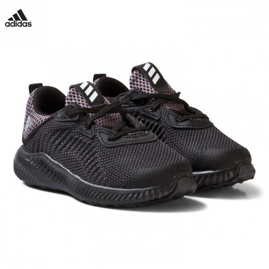 Adidas Performance Black Aero Bounce Infants Trainers Urheilukengät