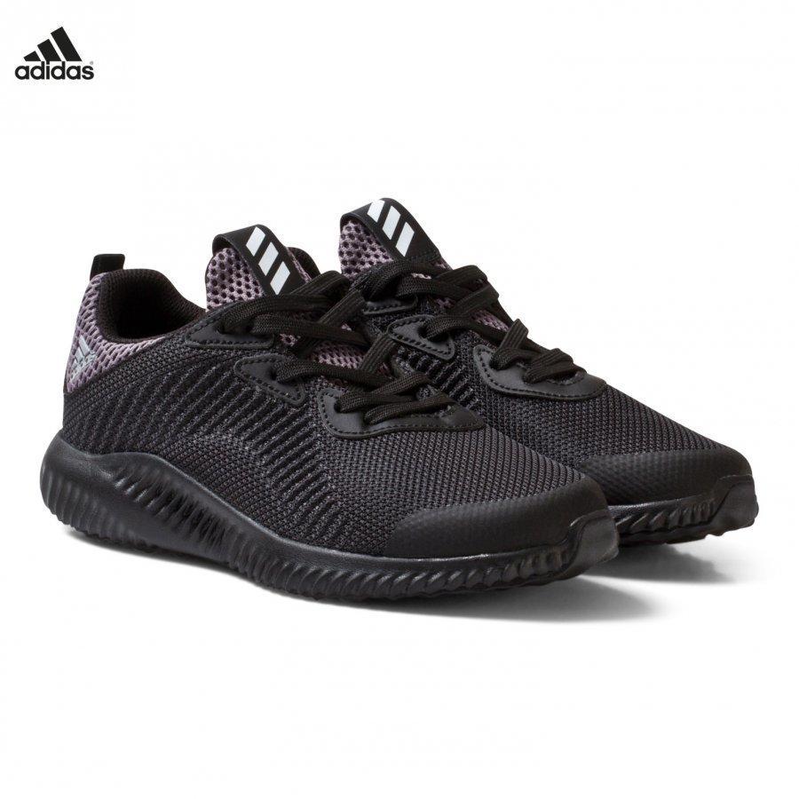 Adidas Performance Black Aero Bounce Kids Trainers Urheilukengät