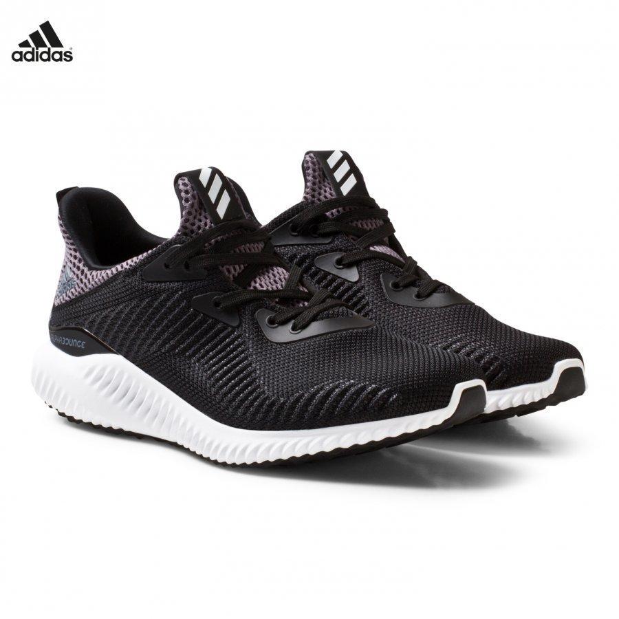 Adidas Performance Black Alphabounce Junior Trainers Urheilukengät