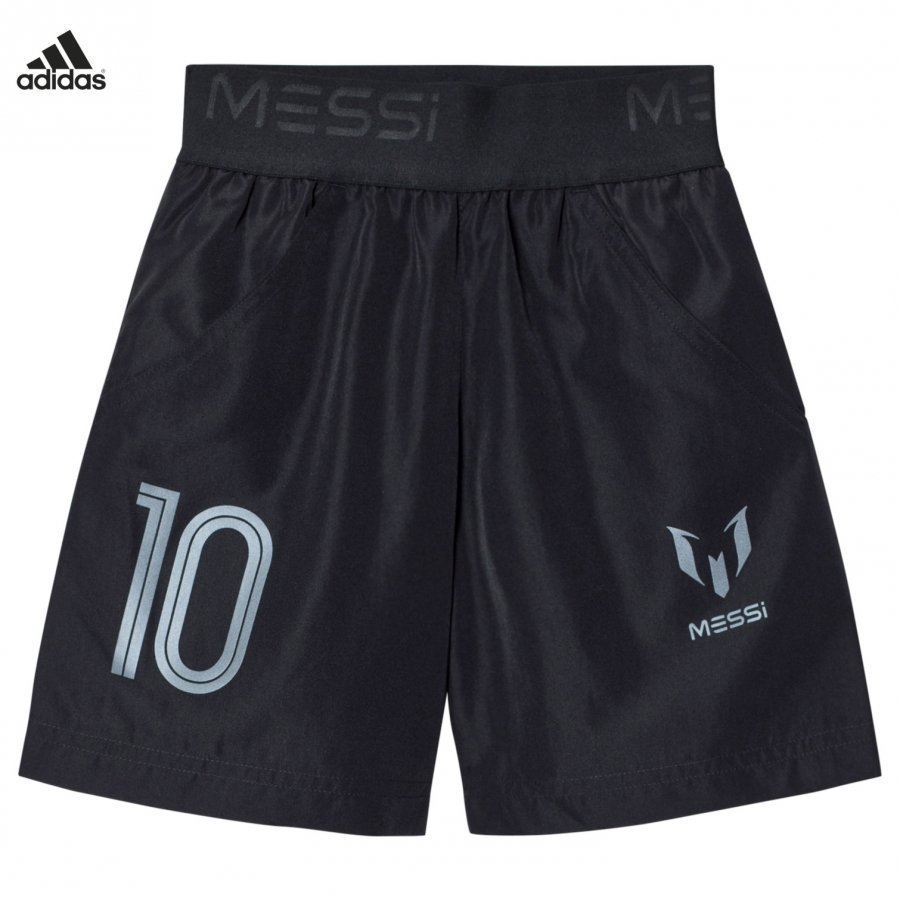 Adidas Performance Black Messi Shorts Urheilushortsit