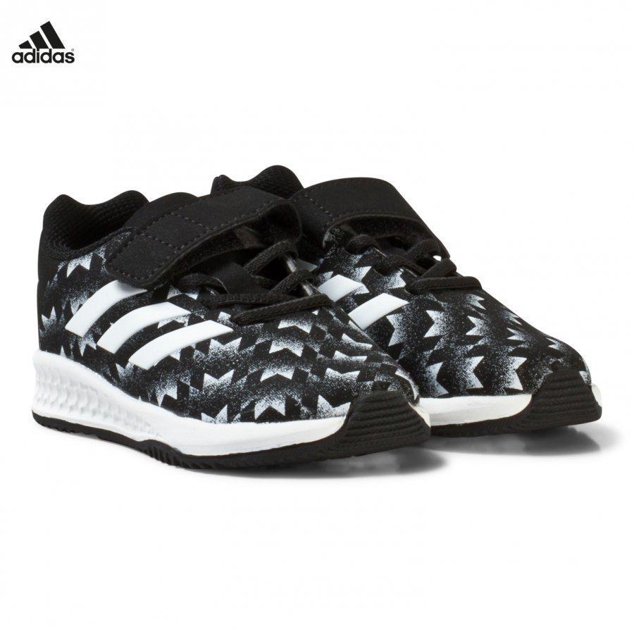 Adidas Performance Black Rapida Man U Infants Trainers Urheilukengät