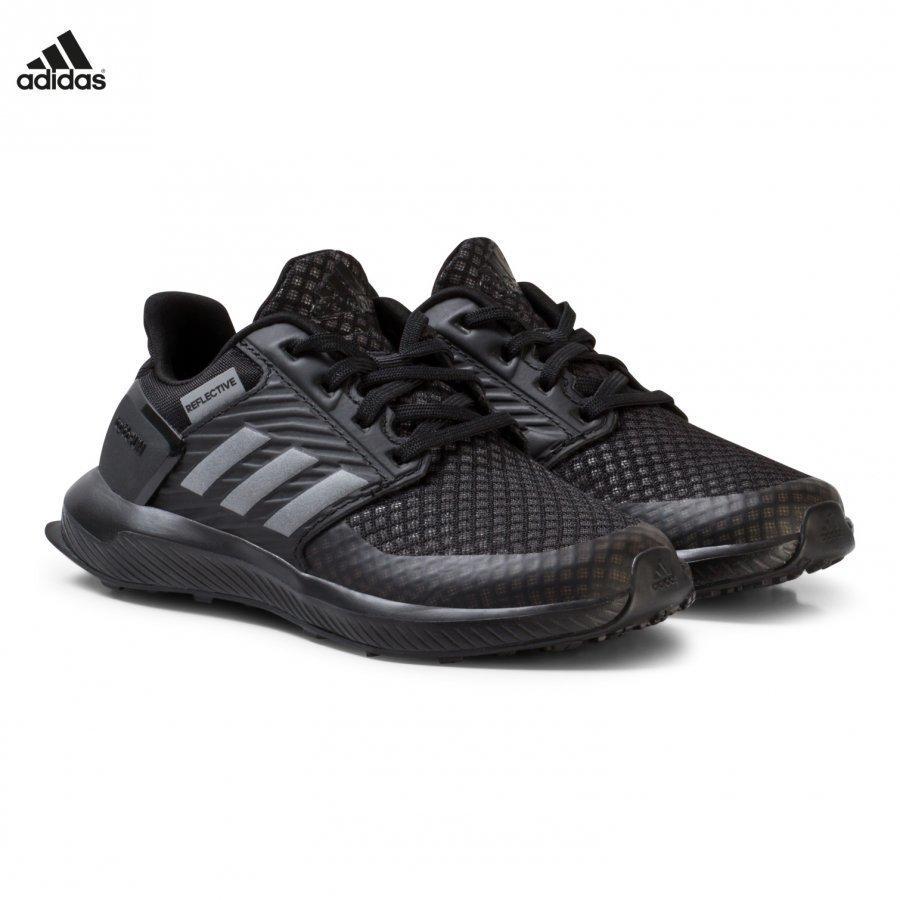 Adidas Performance Black Rapidarun Kids Trainers Urheilukengät