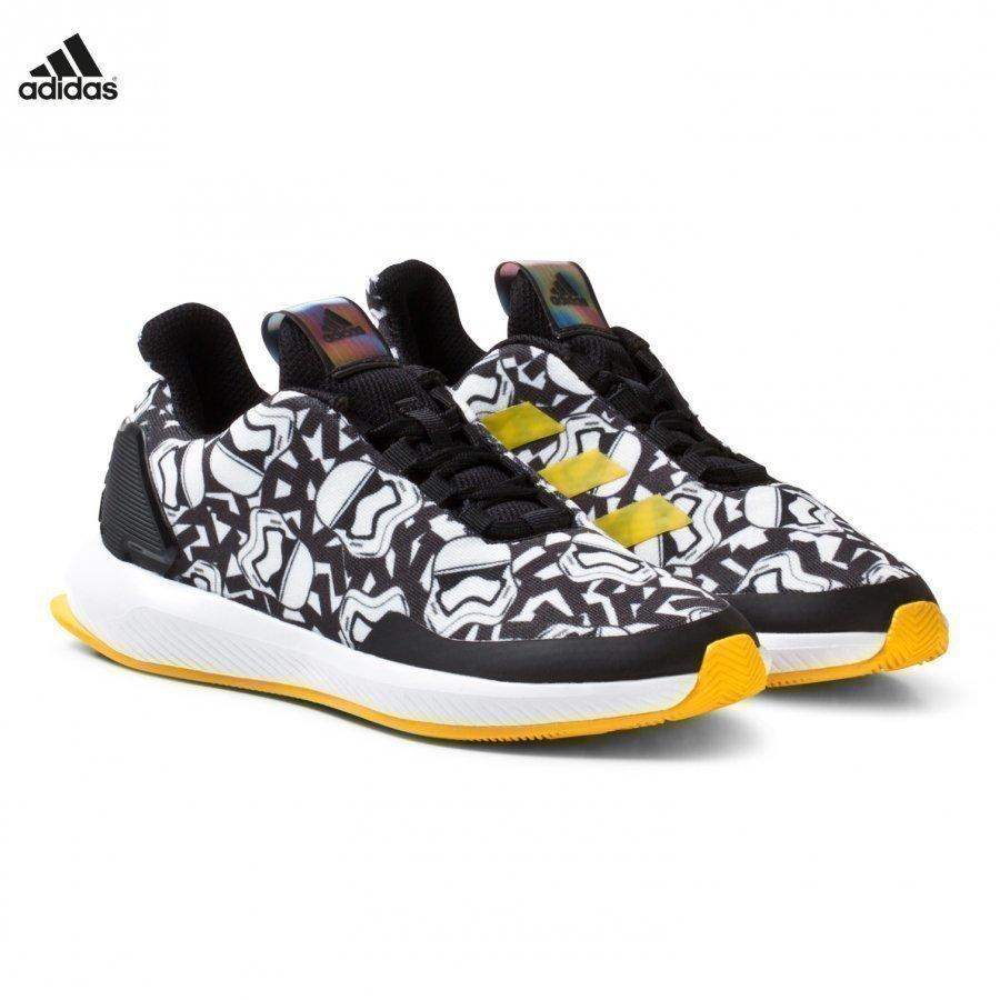 Adidas Performance Black Star Wars Kids Trainers Lenkkarit