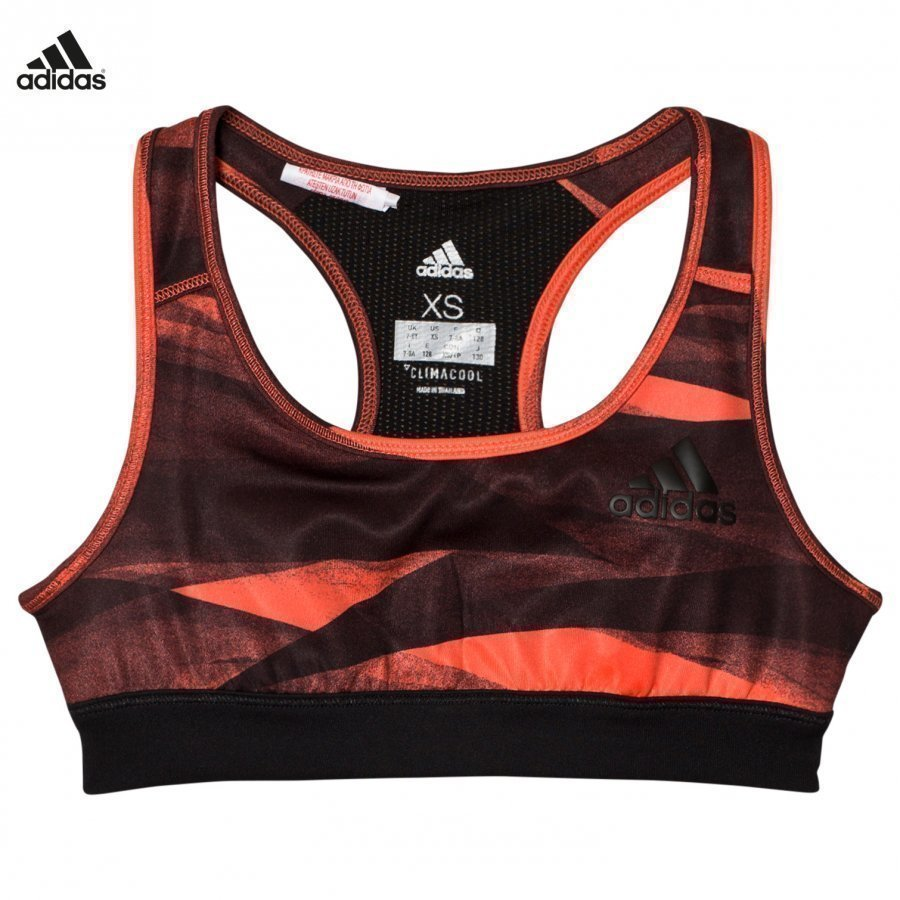Adidas Performance Coral Printed Performance Training Sports Bra Urheiluliivit