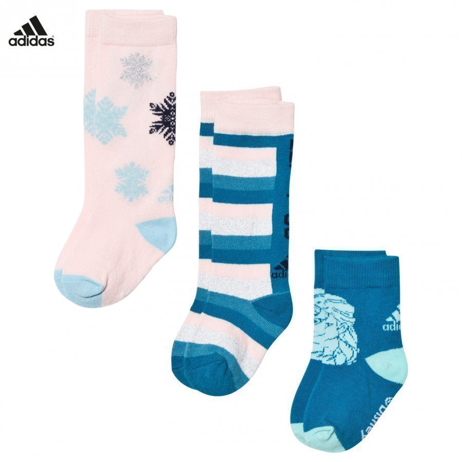 Adidas Performance Disney Frozen 3-Pack Kids Socks Sukat