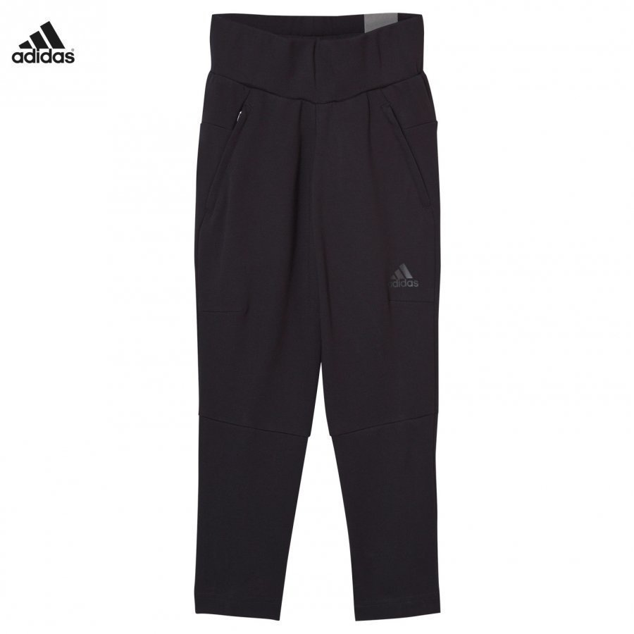 Adidas Performance Girls Black Zone Sweatpants Verryttelyhousut
