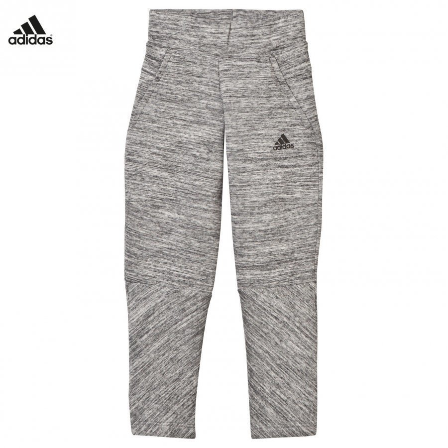 Adidas Performance Girls Grey Zone Sweatpants Verryttelyhousut