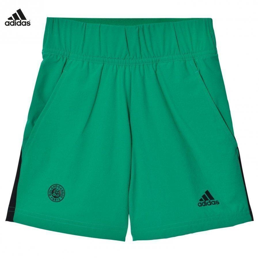 Adidas Performance Green Roland Garros Tennis Shorts Urheilushortsit