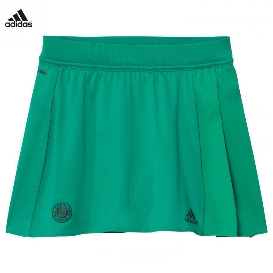 Adidas Performance Green Roland Garros Tennis Skirt Lyhyt Hame