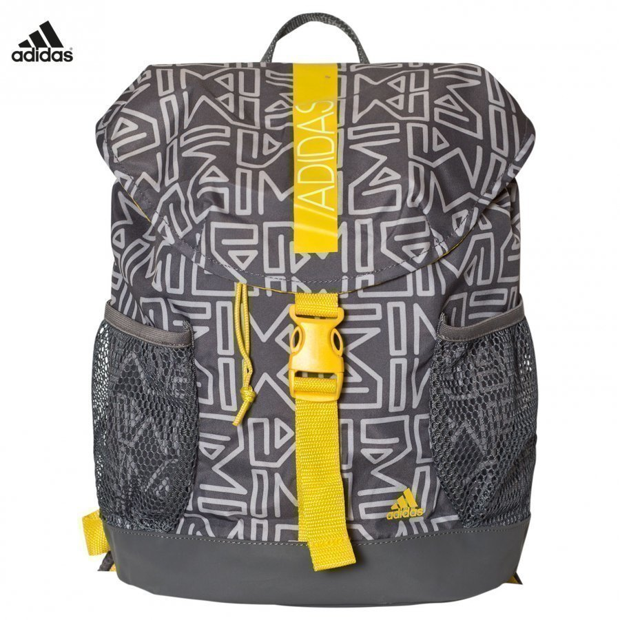 Adidas Performance Grey Abstract Print Backpack Reppu