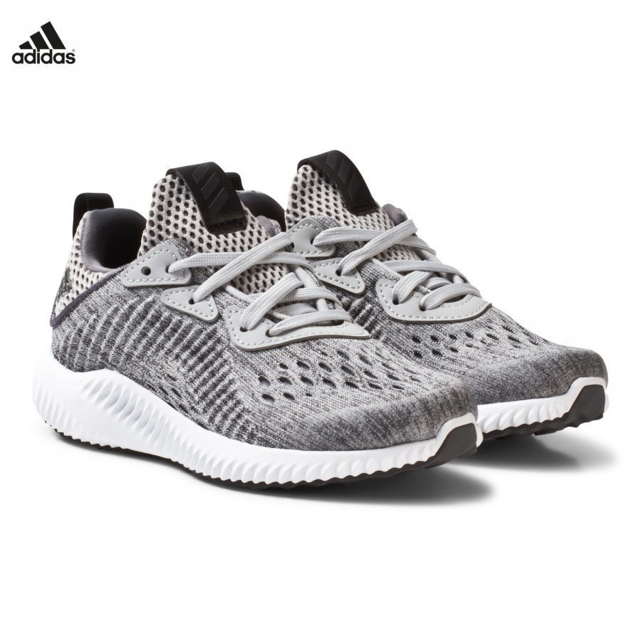 Adidas Performance Grey Alphabounce Kids Trainers Urheilukengät