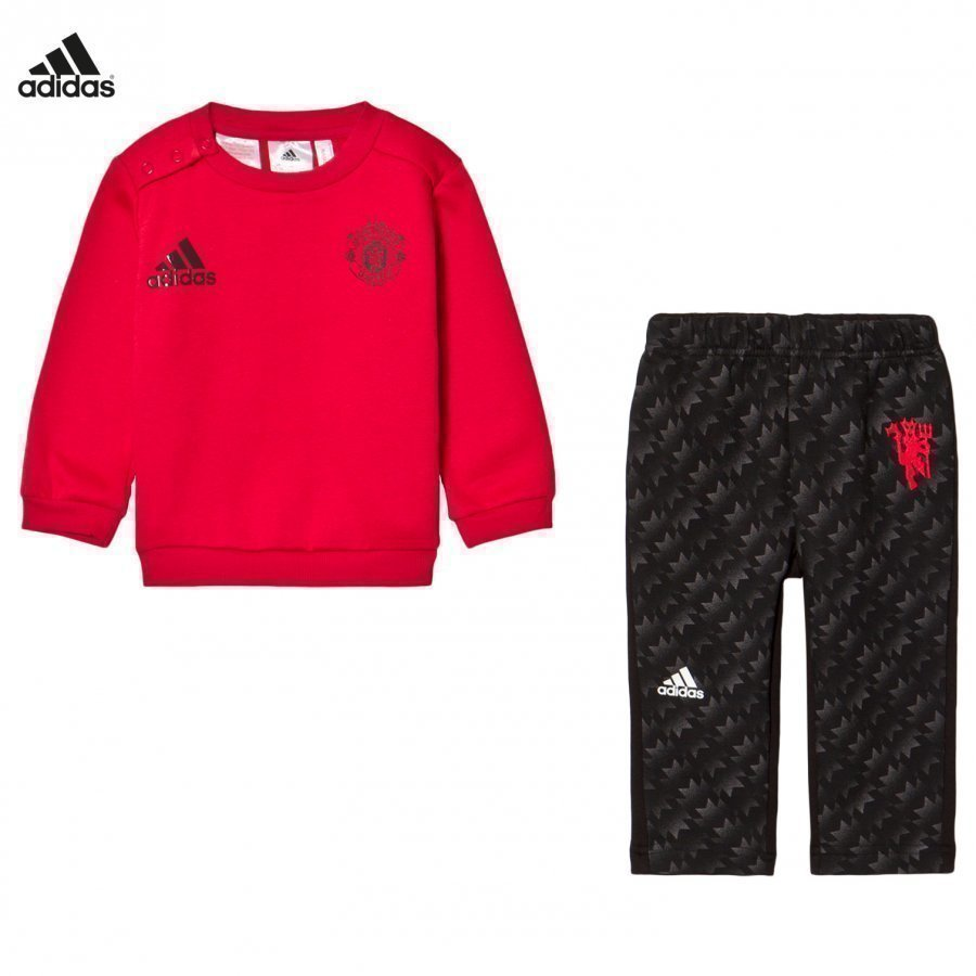 Adidas Performance Man U Infant Sweater And Sweatpants Set Asusetti