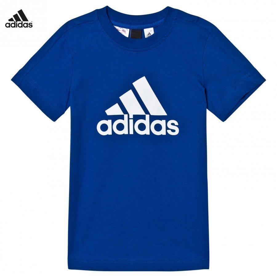 Adidas Performance Navy Logo Tee T-Paita