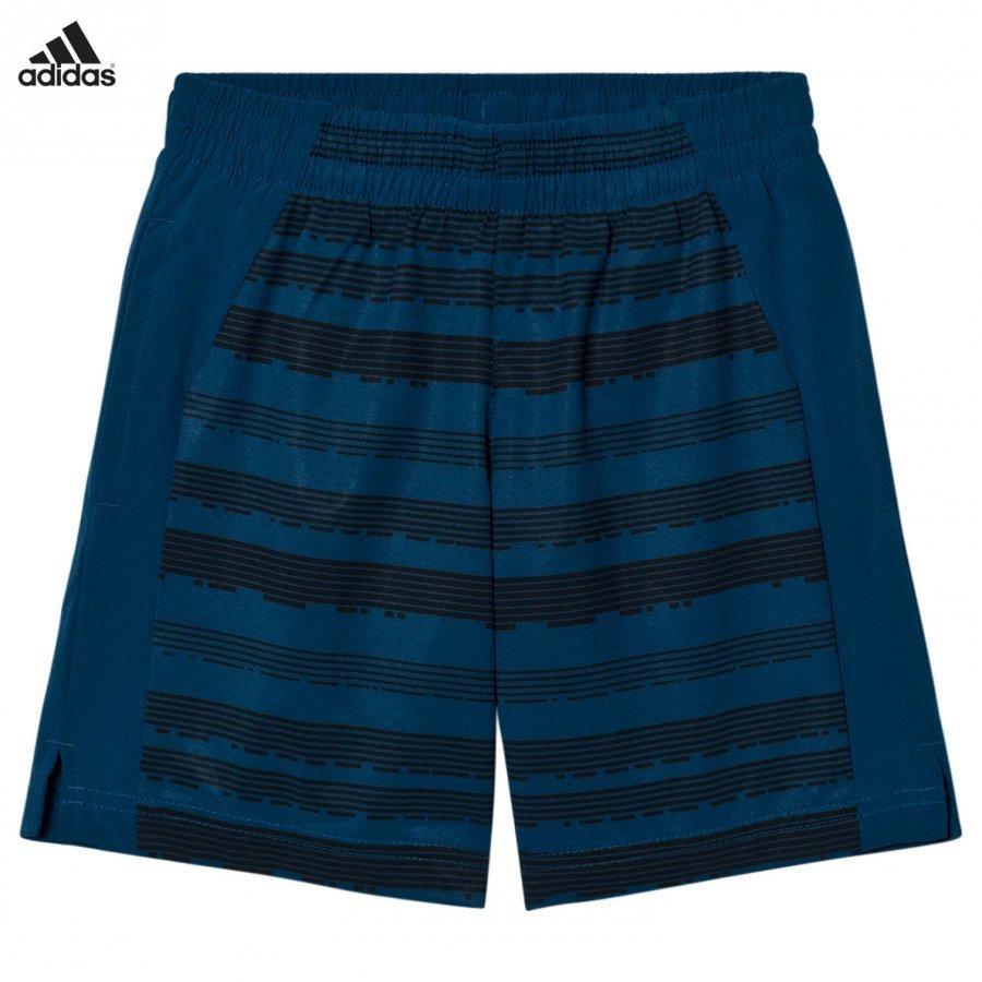Adidas Performance Navy Printed Training Shorts Urheilushortsit