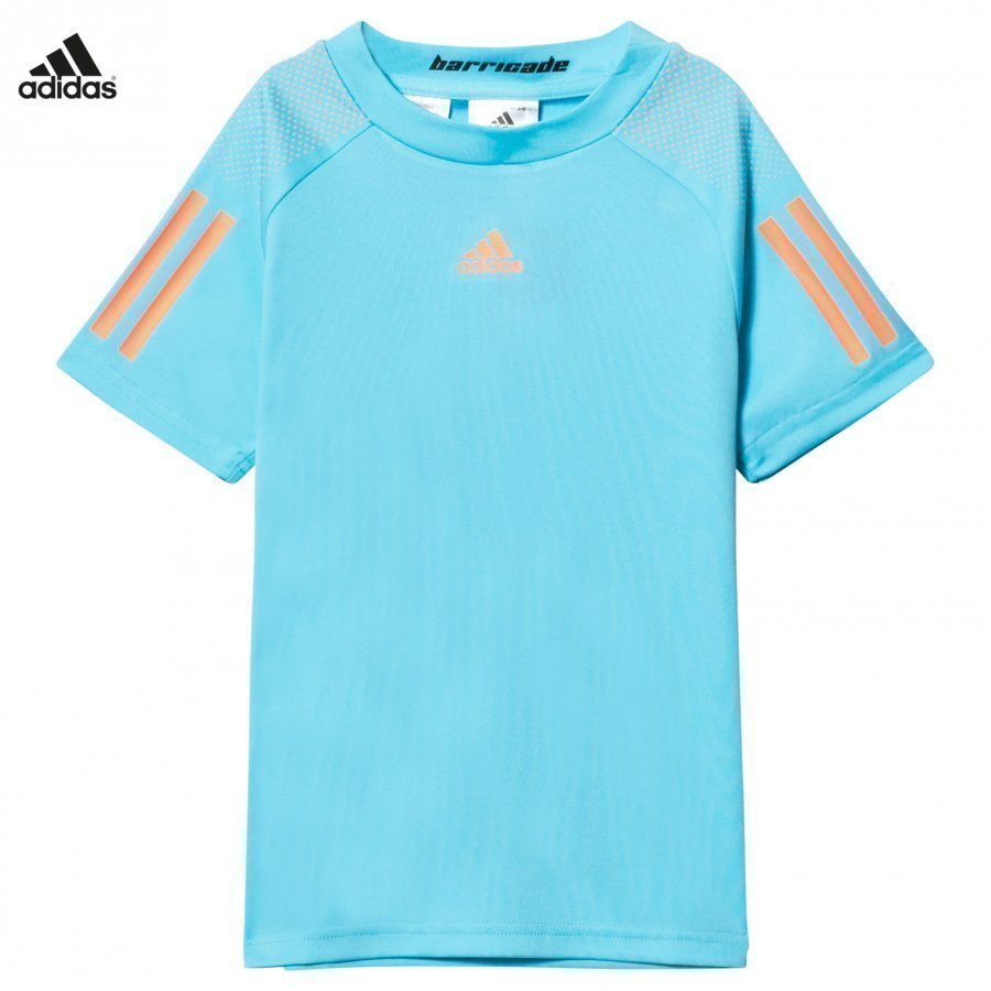 Adidas Performance Samba Blue Barricade Tennis Tee T-Paita
