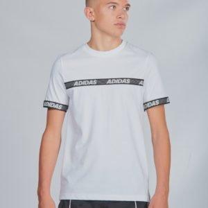 Adidas Performance Sid Br Tee T-Paita Valkoinen