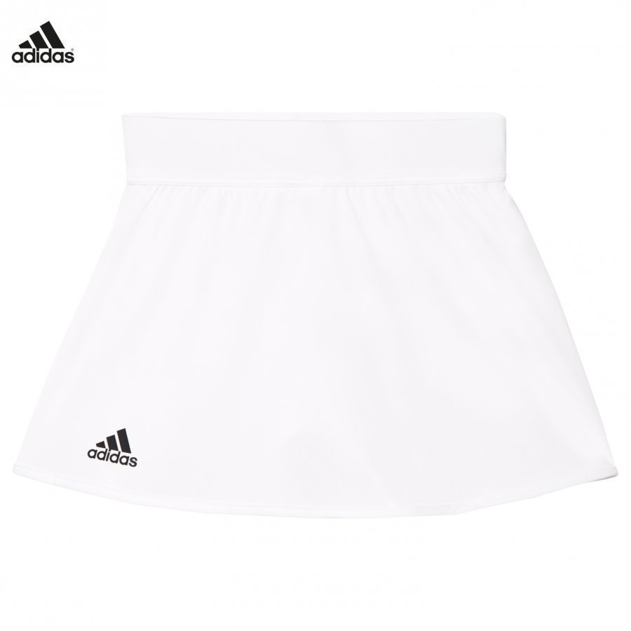 Adidas Performance White Club Tennis Skirt Lyhyt Hame