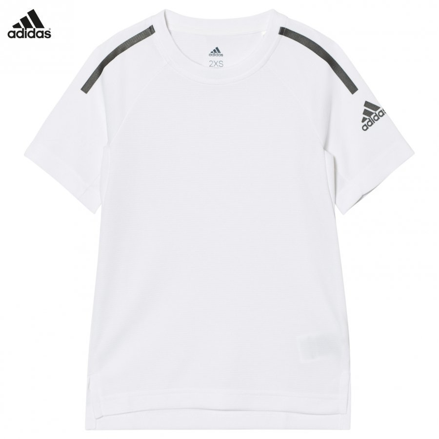 Adidas Performance White Training Cool Tee T-Paita