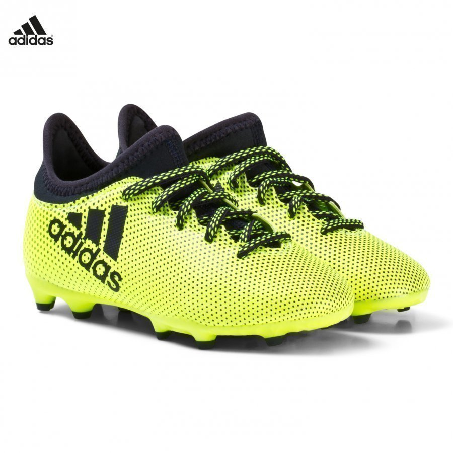 Adidas Performance Yellow X Tango 17.3 Firm Ground Football Boots Jalkapallokengät