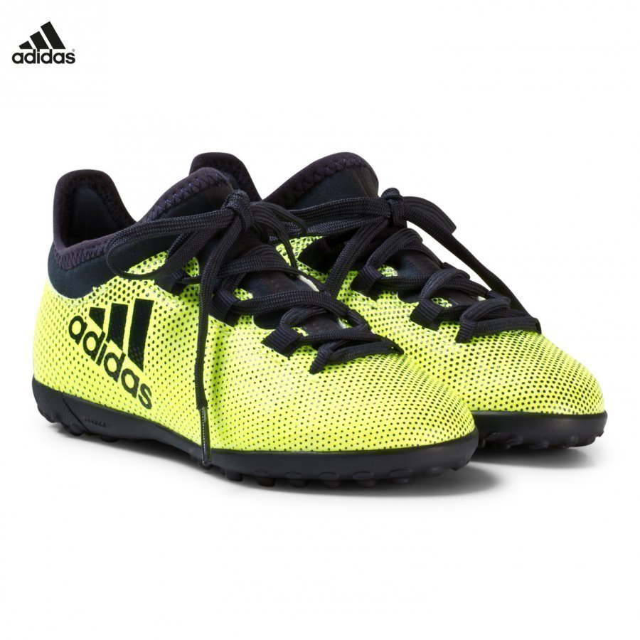 Adidas Performance Yellow X Tango 17.3 Turf Football Boots Jalkapallokengät