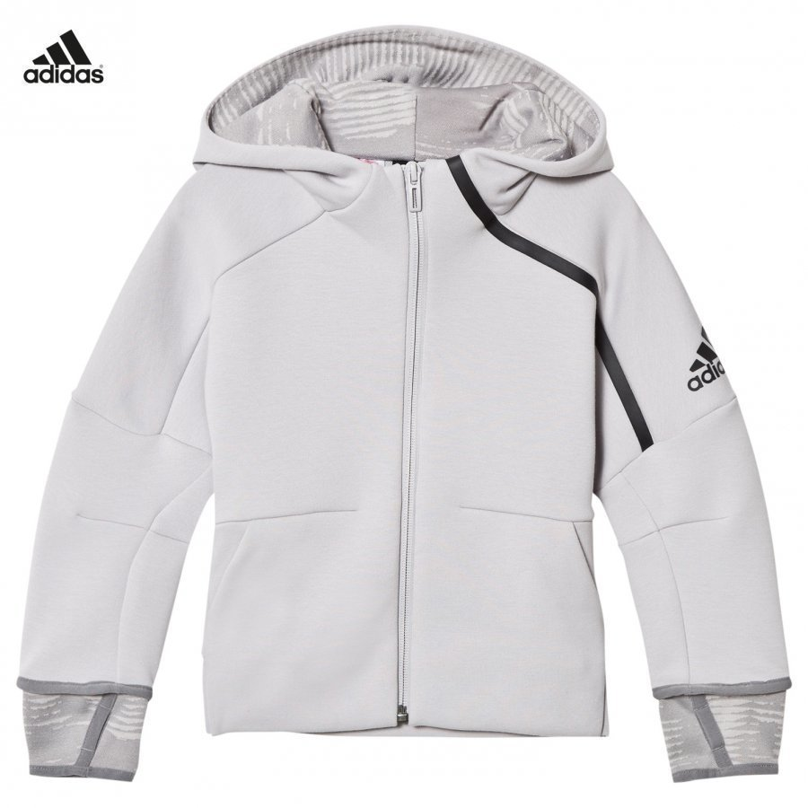 Adidas Performance Zone 2 Pulse Hoodie Grey Huppari