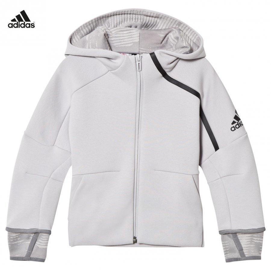 Adidas Performance Zone 2 Pulse Hoodie Grey Huppari